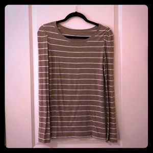 Gap long sleeve striped top